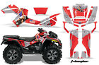 ATV Graphics Kit Decal Sticker Wrap For Can-Am Outlander XMR 500/800 TBOMBER RED