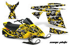 Snowmobile Graphics Kit Decal Sticker Wrap For Ski Doo Mini Z 03-08 CAMOPLATE Y