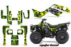 ATV Graphics Kit Quad Decal Sticker Wrap For Kawasaki Bayou 250 03-11 MOTOHD GRN