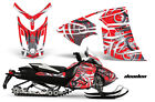 Snowmobile Graphics Kit Decal Wrap For Ski-Doo Rev XR GSX Summit 2013+ DEADEN R