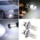 2Pcs 1 Pair H4 80W LED Bright White Headlights Bulbs Lamp For Yamaha Snowmobiles