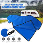 Waterproof Blue Hitch Cover Coupling Lock Trailer Tow Ball PVC For Caravan