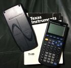 Texas Instruments TI-89 Graphing Calculator with Slide Cover & Manual