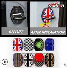 2Pcs Door Lock Catch Cover Buckle Cap Protector Anti Rust Fit for Mini Cooper