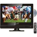 New Supersonic SC-1312 13.3 720p Widescreen LED HDTV/DVD Combination, AC/DC Comp