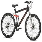 "Men's Mountain Bike, Black Genesis 27.5"" V2100 21 Speed Full Suspension Shimano"