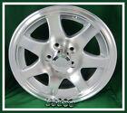 Aluminum Trailer Rim 15X6 Wheel 7 Spoke 5 on 4.5 Center Cap & Lugnuts