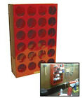 Aerosol Can Storage Rack Holds 24 Cans 14.5 in W x 22.5 in H  x 5.25 in D CRR613