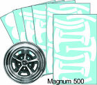 "Mustang Magnum 500 15"" Wheel Paint Stencil Kit"