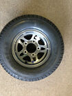 Trailer Tire & Tire 205/65-10 (20.5 x 8.0 -10) Load Range E 1650lb Mag Rim