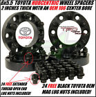 """4 TOYOTA WHEEL SPACERS   6X5.5   1.5"""" INCH   FITS ALL 6 LUG   38MM   FORGED"""