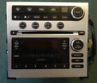 2005-06  INFINITI G35 BOSE RADIO 6 CD CHANGER MP3 PP-2664D WITH FACEPLATE #A223