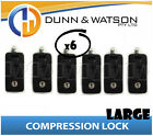 Large Black Compression Lock / Handle / Latch (Pop Omega Trailer Canopy ) x6