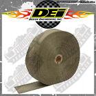 "DEI 1800°F Fibre 2"" / 50mm Width Titanium Exhaust Wrap 50ft Long Roll 010127"