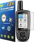 3x Clear Screen Protector Garmin GPSMAP 60 62 62s 62sc 62st 64 64s 64st 64sc