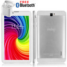 "Indigi® Gold 7.0"" Capacitive Multi-Touch Android 4.2 Premium Leather Back"