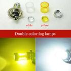 2x H7 80W CREE XB-D LED Fog Bulb White Yellow Car Light Driving Lamps High Power