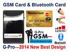 GSM BOX & Bluetooth Credit Card Earpiece Spy Covert Bluetooth Hidden SIM