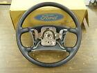 NOS OEM Ford 1986 Escort + Lynx Steering Wheel E7FZ-3600-C