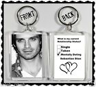 "Sebastian Stan Keychain ""Single Taken Mentally Dating Sebastian Stan"""