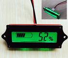 Lead-acid Lithium LiPo Battery 12V Power Capacity LCD Indicator Tester Voltmeter