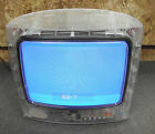 "RCA J13804CL 13"" Clear Prison Jail Television TV"
