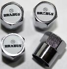 Brabus White AMG Tire Valve Stem Caps Cover Wheel Free Shipping