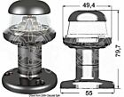 Osculati  IP56 Watertight Black Plastic Body White Navigation Light Masthead 3W
