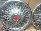 "14 "" WIRE SPOKED WHEEL COVER / HUB CAPS----set of 4"