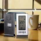 Electronic Alarm Calendar Temperature Humidity Meter Hygrometer Weather Station