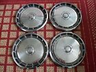 """Ford Mustang 1971-1973, Set of Four 14"""" Hubcaps"""