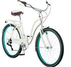 Fairhaven Women's Cruiser Bike Schwinn 7Speed Linear Pull Brakes Steel New Cream