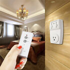 Wireless Remote Control AC Electrical Power Outlet Lights Switch Socket USA Plug