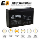 ExpertBattery 6V 7Ah SLA Replacement Battery for Enduring 3FM7