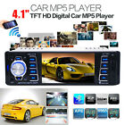 Bluetooth In-Dash Car Stereo Audio Receiver MP3 MP5 Player USB TF AUX FM Radio