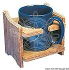 ARC Teak Cup & Tin Holder