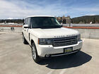 2010 Land Rover Range Rover  2010 Land Rover Range Rover V8 Supercharged AWD White