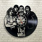 The Who_Exclusive wall clock made of vinyl record_GIFT_Home Decor