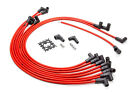 Advanced Fuel & Ignition SBC HEI Straight Red Spark Plug Wire Set P/N 850305