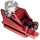 PROFORM 66772 Heavy Duty Multiple Angle Piston Vise - Aluminum, Red Anodized