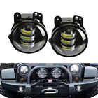 "2pcs 4"" Inch Round 30W CREE LED Fog Light for 07-16 Jeep Wrangler JK TRUCK ATV"