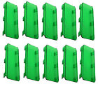 "10pcs X 8"" Lens Cover Snap on Green for Straight Curved LED Light Bar 50"" 52"" 54"