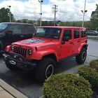 2016 Jeep Wrangler Unlimited Rubicon Red Rock 2016 Jeep Wrangler Red Rock  #6 of 50 Built