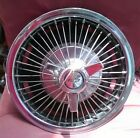 """64/65/66 Chevrolet Impala wire spoked spinner hubcaps 14"""""""
