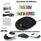 Solar Car Humidifier Air Purifier Freshener Aromatherapy Essential Oil Diffuser