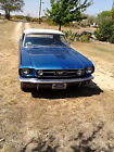 1966 Ford Mustang Convertible 6 cylinder 3 speed manual