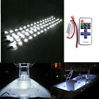 4pcs Wireless Remote Control Boat LED Light Strip Kit and Motorcycle White DC12V