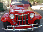 """1950 Willys Willy""""s Jeepster Jeepster Convertible 1950 WILLY'S JEEPSTER"""