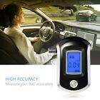 Professional Breath Alcohol Tester Breathalyzer LCD Display Digital Sensor New