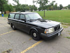 1992 Volvo 240  1992 Volvo 240 Wagon black super clean